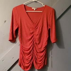 CAbi Blouse in Poppy